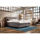 Lonni Boxspringbett inklusive Led Beleuchtung, Material Kunstleder – 180 x 200 cm Möbel-EinsMöbel-Ei