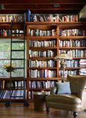 15 fantastische Designs der Heimbibliothek für alle Buchliebhaber