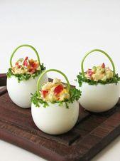 Kalte Platten zu Ostern dekorieren: 18 kreative Ideen
