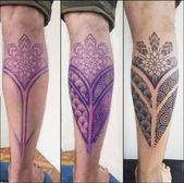 34+ ideas tattoo leg polynesian calves –  #