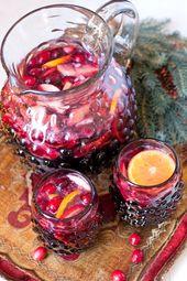 Höchstwahrscheinlich servieren Sie zu Ihrem Weihnachtsessen Wein, aber stattdessen …