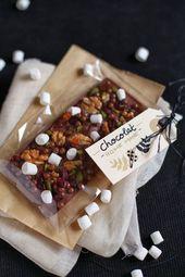 10 idées de tablettes de chocolat maison – Elle à Desk