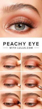 Peachy Eyeshadow Tutorial BeautyBlog #MakeupOfTheDay #MakeupByMe #MakeupLife #MakeupTutorial #In