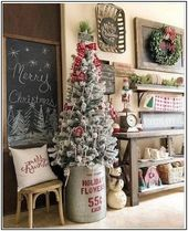 89 stunning christmas decor ideas with farmhouse style page 7 | Pointsave.net