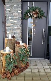 Outdoor Entrance Entrance Christmas Decoration Bea…