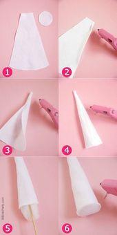 DIY Unicorn Party Stirnbänder – lernen Sie, diese einfachen Accessoires zum Geburtstag herzustellen …   – Haloweenie
