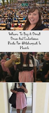 Where To Buy A Dirndl Dress And Lederhosen Pants For Oktoberfest In Munich