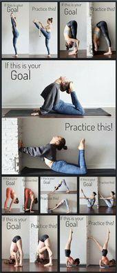 Wie man Yoga-Posen übt – #Poses #practice #Yoga #yogabeach   – Sport