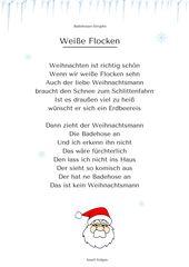 """Photo of """"White Flakes"""" (2) – Weihnachtsgedicht & Lied – hören Sie mp3 unter: www.kitakiste …."""