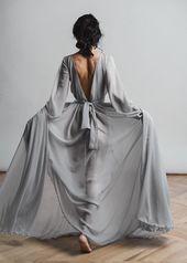 2019 Bräute, Sie MÜSSEN diese Chiffon Brautkleider und Brauttrenner sehen | ICH…   – Etsy Wedding