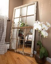 17 Outstanding DIY window mirrors that will delight you