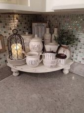 ✔62 chic farmhouse kitchen design and decorating ideas 50