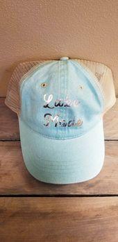 Lake Mode Hat/Women's Lake Hat/Summer Trucker Hat – Farmhouse Decor & More by Green Acres & Co.