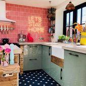 Claire Williams vielseitiges, maximalistisches Zuhause   – Küchen