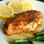 Baked Honey Mustard Chicken Breast with a touch of lemon, an absolutely deliciou…