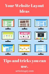 How To Layout Your Website