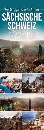 Sächsische Schweiz: 7 traumhafte Dinge, die du im Winter erleben kannst