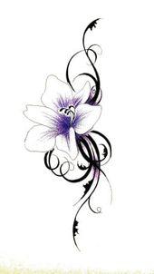 Achetez Flower Tattoo à Lupfig sur ricardo.ch   – tattoo