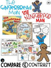 Gingerbread Man and Ningabread Man