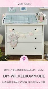 Table à langer bricolage pas cher   – Babyzimmer Kinderzimmer