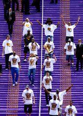 Lamar Odom Kobe Bryant Photos Photos Los Angeles Lakers Nba Finals Championship Victory Parade Kobe Bryant Black Mamba Kobe Bryant Kobe Bryant Championships