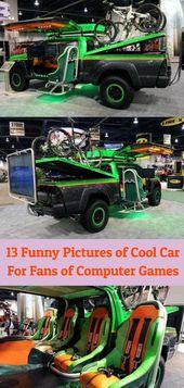 Bilgisayar Oyunlarının Hayranları İçin Harika Araba 13 Komik Resimleri