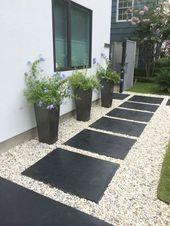 Entzückende 50 Fabulous Side Yard Garden Design-Ideen und Remodel coachdecor.com