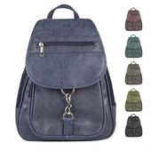 OBC DAMEN RUCKSACK ORGANIZER Cityrucksack Schultertasche Stadtrucksack BackPack Handtasche Daypack Leder Optik Tablet 8-10 Zoll