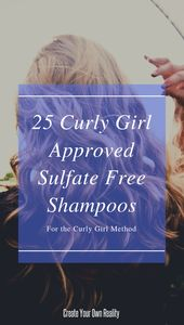 25 Curly Woman Accredited Sulfate Free Shampoos