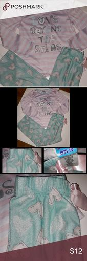 """Girls Sleep On It """"Love Beyond The💫 Pajamas Set Brand: Sleep On It  Size: Girls Size 7/8  Condition: Nearly New My Daughter is extremely picky with…"""