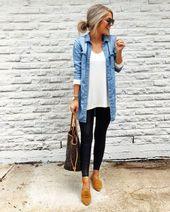 20+ moderne schicke Herbst-Outfits Ideen Frauen