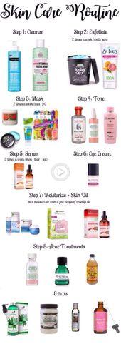 DIY MASK para el acné: solo uso algunos de estos productos # cuidado de la piel