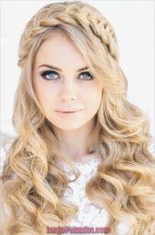 30 zeitlose Hochzeitsfrisuren für kurzes und mittleres Haar