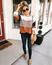 Top 35 trends outfits you need to try for this fall 10 ~ Fashion & Design