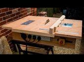 Komplette Tischkreissäge für 100€ selber bauen…