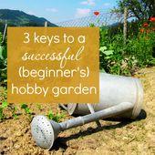 3 Schlüssel zu einem erfolgreichen Hobbygarten – TOP Pins from Top Bloggers