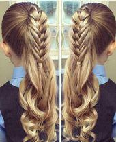 17 entzückende Herz-Frisuren – nette Frisuren für Kinder, die Sie LIEBEN werden! – #Adorab …..