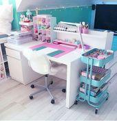 Einfache Deko-Ideen für Mädchen-Schlafzimmer – #…