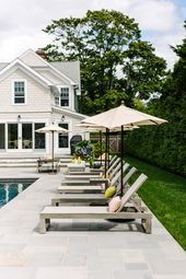 Design Crew: A Stylish Hamptons Pool & Patio, Smartly Designed for Family Gather…