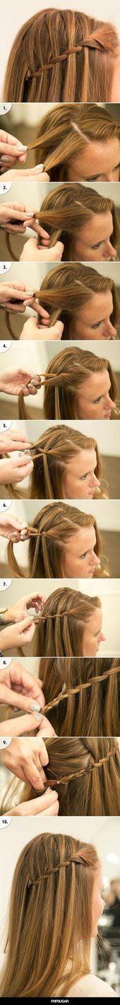 Fresh Easy to Frisuren für die Schule zu tun