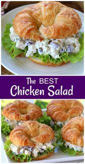 BEST Chicken Salad – Kochen – #Chicken #Kochen #Salad – salat