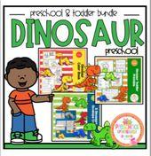 Dinosaur Bundle for Toddler-Preschool plus Craft