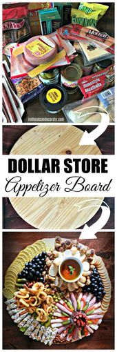 Dollar Store Appetizer Board