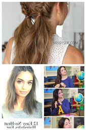 Make light and attractive hairstyle for everyday life, braids two braids … – #Alltag #attractive # den # lichen # hairstyle #easyhairstyles #easyh…