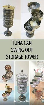 Thunfisch kann Lagerturm ausschwenken
