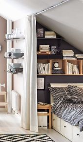Designing pitched ceilings: With these 6 tips, you can set up your bedroom perfectly!