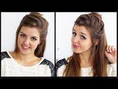 kleines Brötchen – schnell und einfach, 5 min Frisur [Frisuren Freitag] – # Freitag #Frisur …   – hairstyles friday