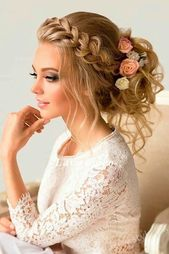Bride and Bun Hairstyles