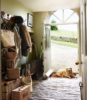 English Country Mudrooms