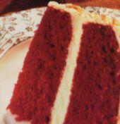Roter Samt Kuchen -Echt Amerikanisch schmeckt zart wie Samt – Leicht zu backen – Bild eingegeben – Bäckerei
